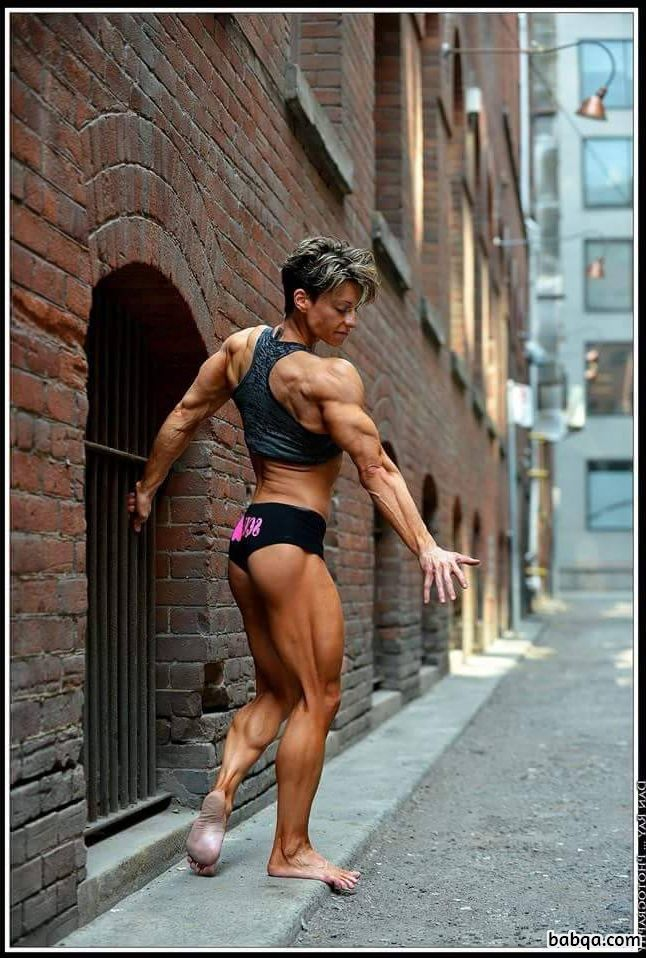 beautiful girl with fitness body and muscle ass image from linkedin