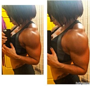 spicy female bodybuilder with strong body and muscle ass repost from linkedin