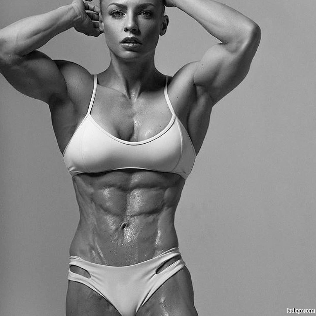 perfect female with muscle body and toned arms repost from tumblr