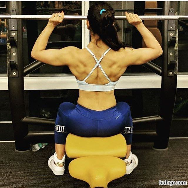 perfect woman with muscular body and toned ass image from tumblr