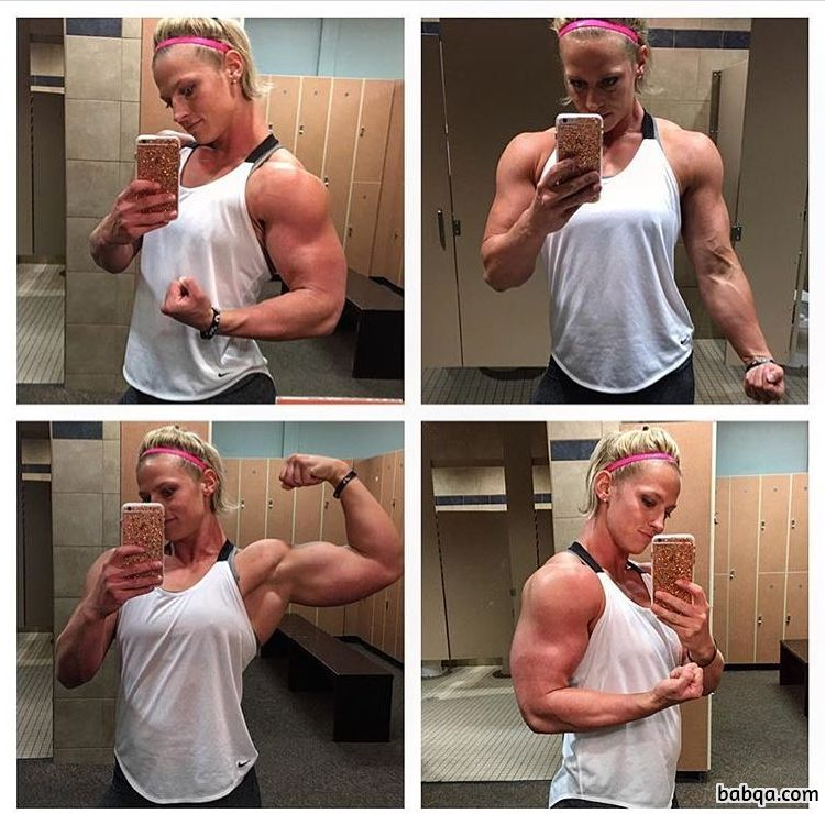 awesome lady with strong body and muscle legs repost from linkedin