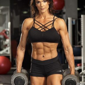hottest female bodybuilder with muscle body and muscle bottom repost from linkedin