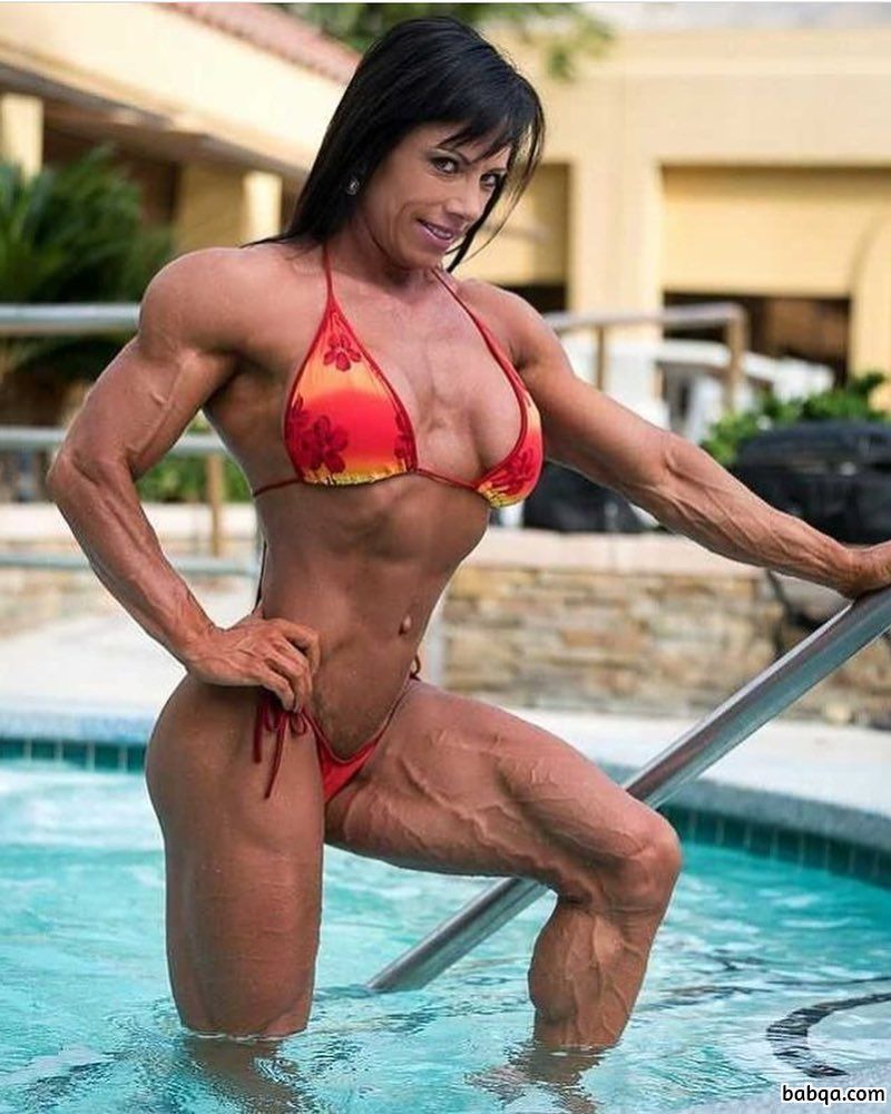 hottest girl with strong body and muscle bottom photo from tumblr