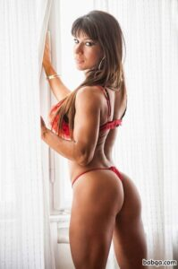 spicy chick with muscular body and toned bottom image from flickr
