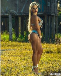 hot lady with strong body and toned arms photo from g+