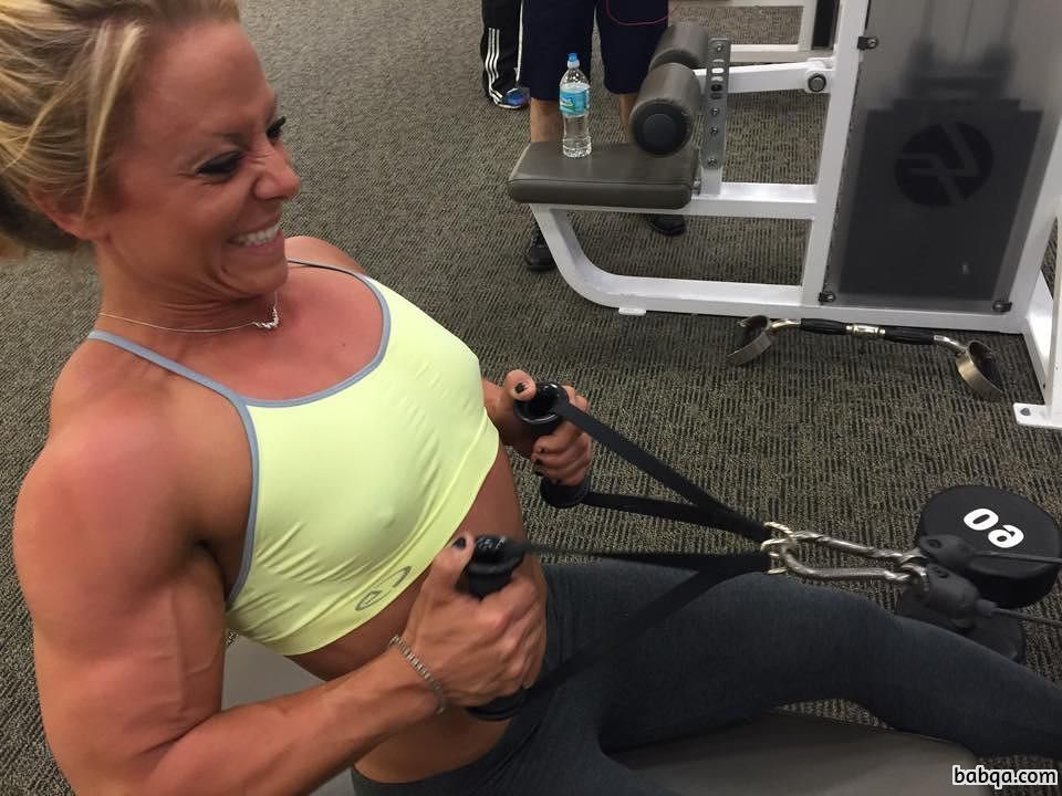 hottest chick with muscle body and toned legs repost from linkedin