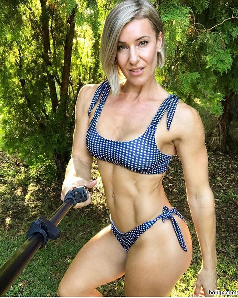 hottest girl with fitness body and toned arms pic from tumblr