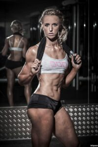 spicy female with muscular body and muscle ass image from tumblr