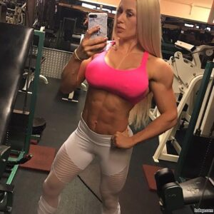 spicy lady with muscle body and toned arms picture from reddit