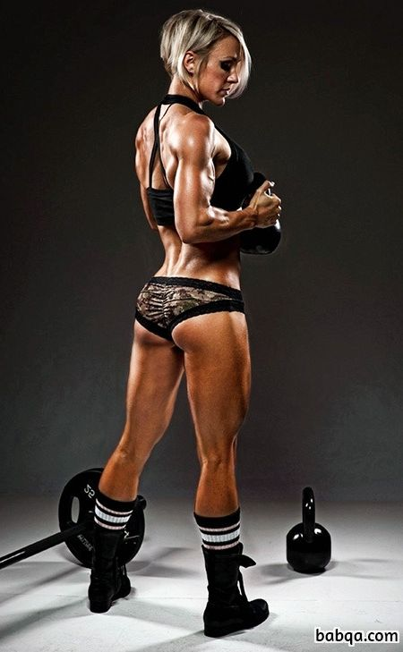 awesome babe with muscle body and muscle biceps pic from flickr