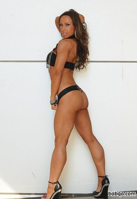 spicy babe with fitness body and toned bottom pic from flickr