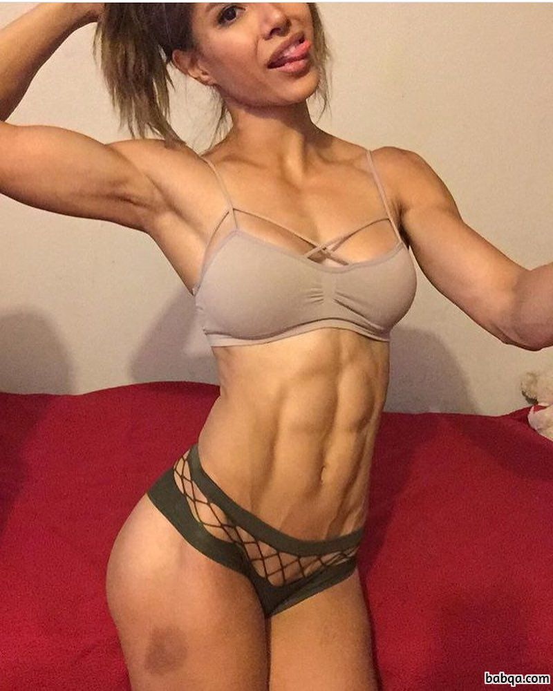 sexy girl with strong body and toned legs picture from reddit