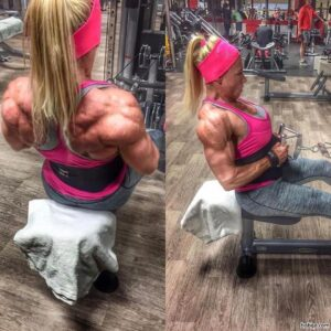 perfect female bodybuilder with fitness body and muscle arms pic from tumblr