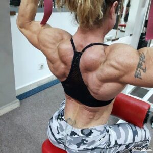 beautiful female bodybuilder with fitness body and toned biceps post from flickr