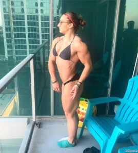 spicy girl with fitness body and toned bottom repost from tumblr