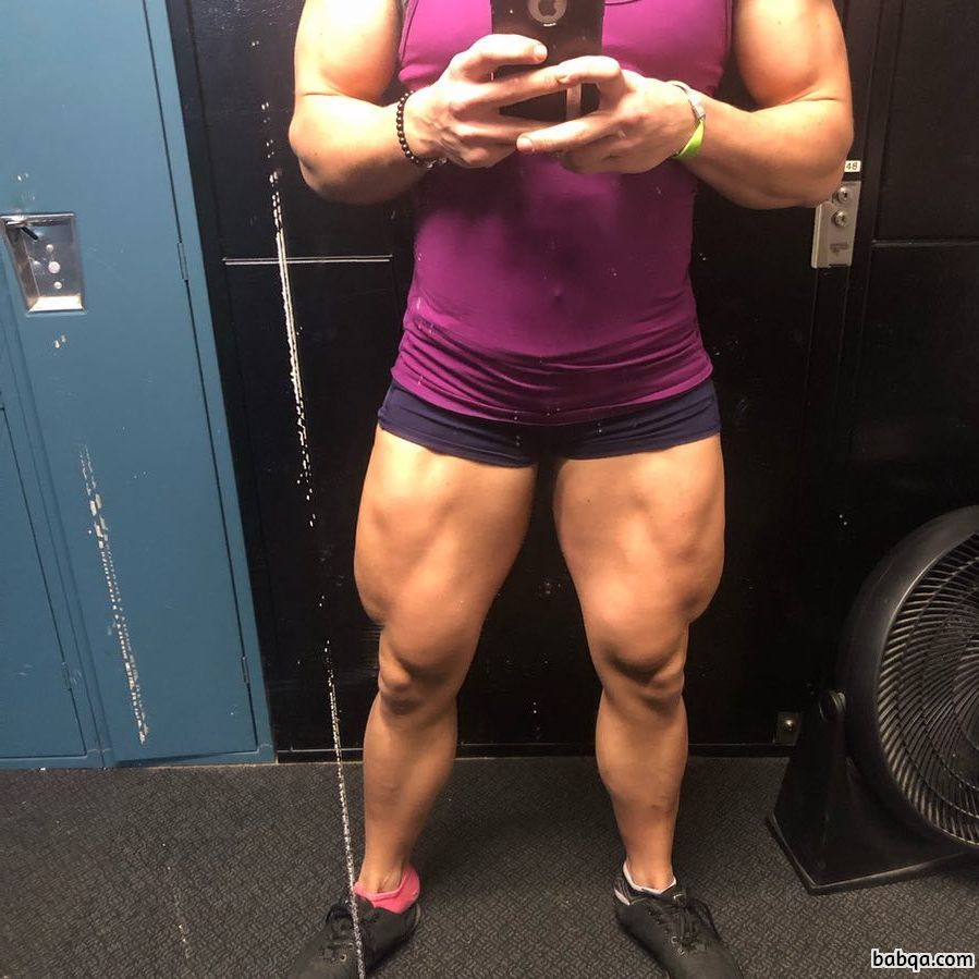 hottest girl with strong body and muscle ass pic from reddit