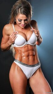 awesome babe with muscular body and toned bottom picture from facebook