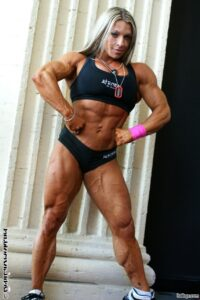 perfect babe with muscle body and muscle legs picture from tumblr