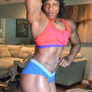 spicy lady with strong body and muscle bottom image from reddit