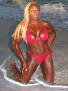 hot female with muscular body and toned arms photo from tumblr