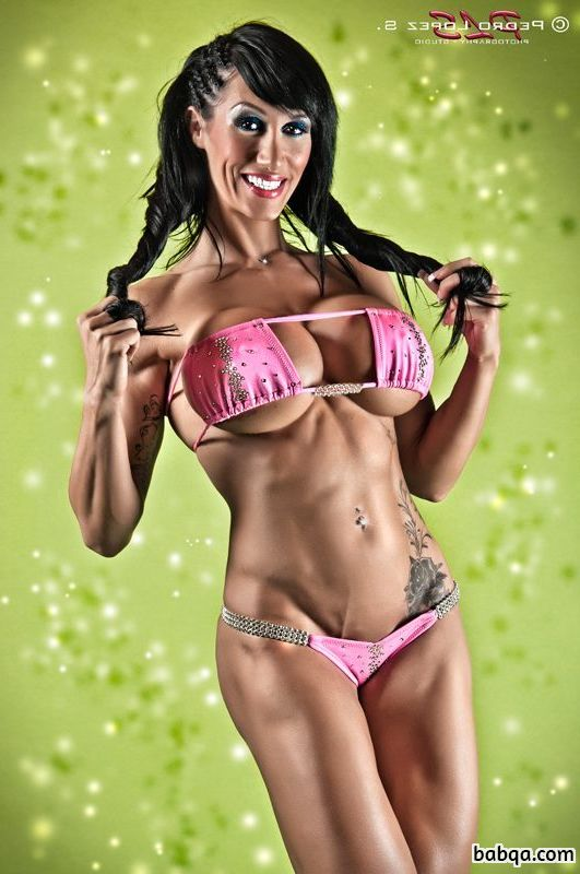 hottest chick with fitness body and muscle bottom repost from linkedin