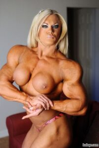 spicy woman with muscular body and muscle bottom repost from tumblr