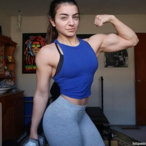 spicy female with strong body and muscle booty post from tumblr