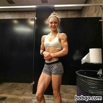 hot babe with fitness body and toned booty post from linkedin
