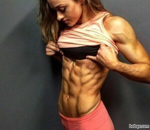 spicy babe with strong body and muscle arms pic from instagram