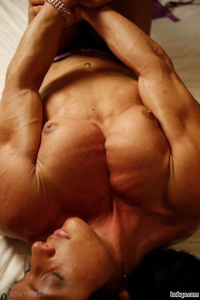 hottest lady with muscle body and muscle ass post from flickr