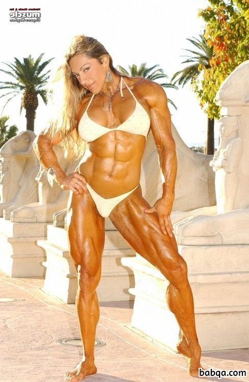 hot babe with muscle body and toned legs image from tumblr