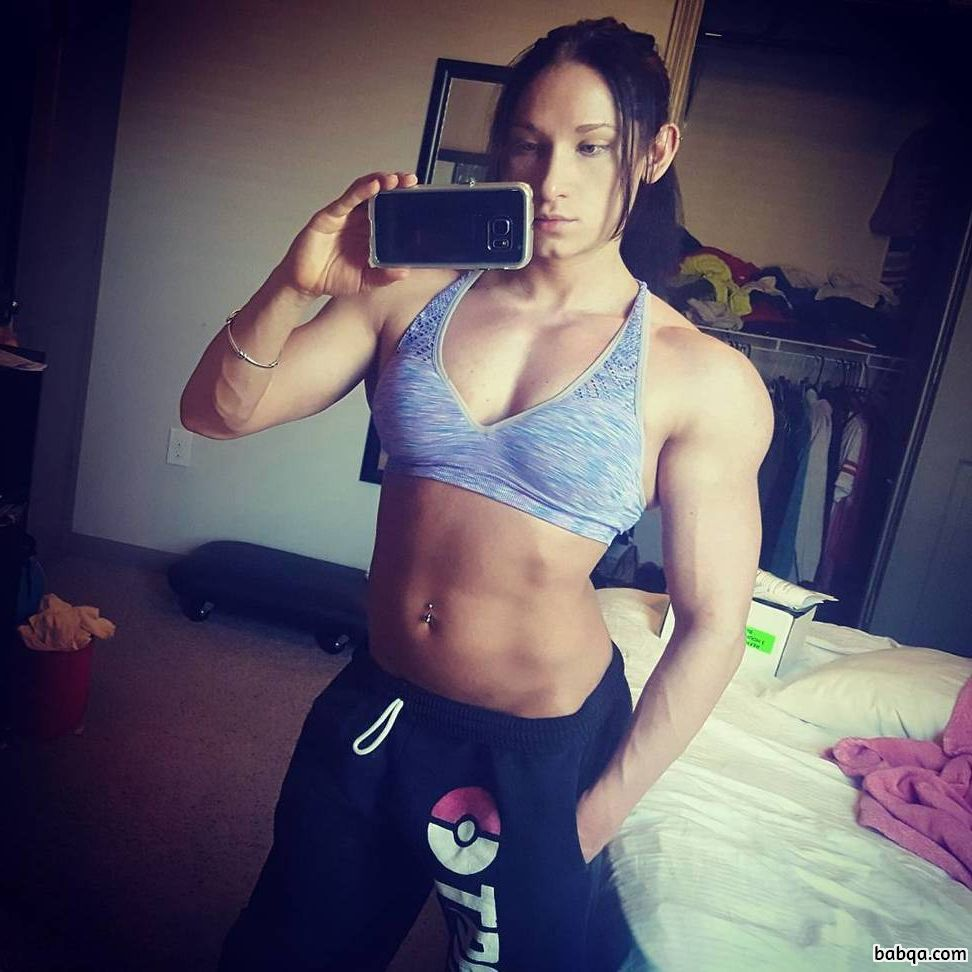 awesome female with muscle body and muscle bottom repost from linkedin