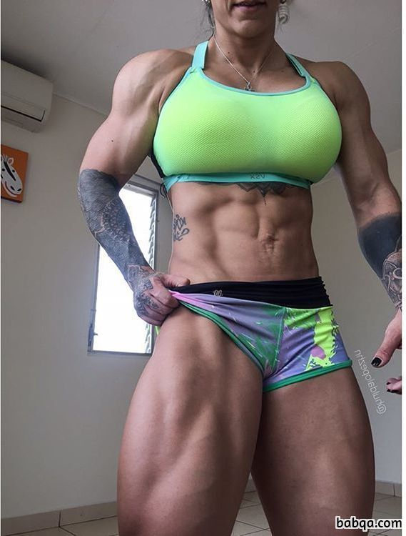 awesome girl with fitness body and toned arms post from linkedin