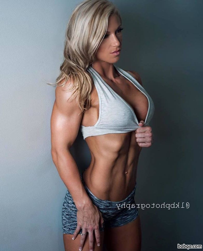 perfect lady with strong body and toned legs post from g+