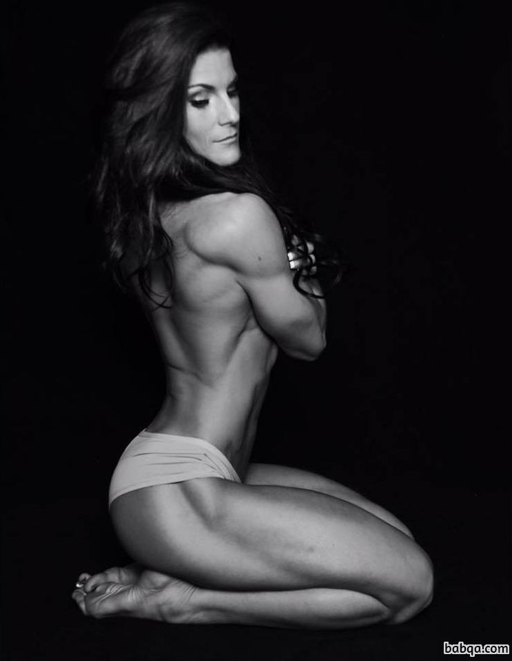 hot chick with muscle body and toned ass image from linkedin