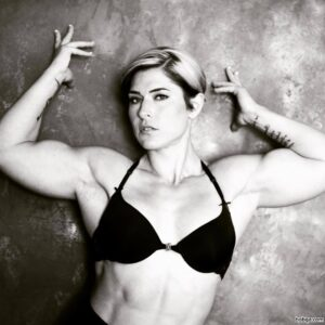 hottest lady with muscular body and muscle booty repost from linkedin
