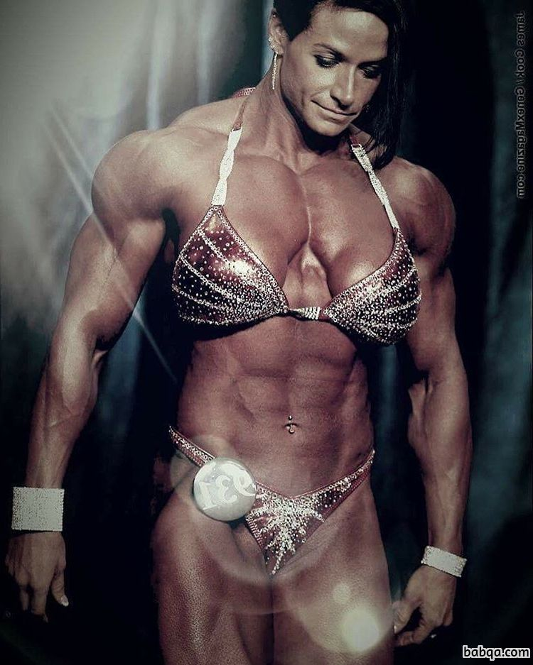 hot lady with muscular body and toned arms repost from linkedin