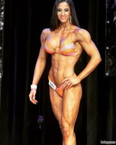 beautiful lady with muscle body and muscle arms image from flickr