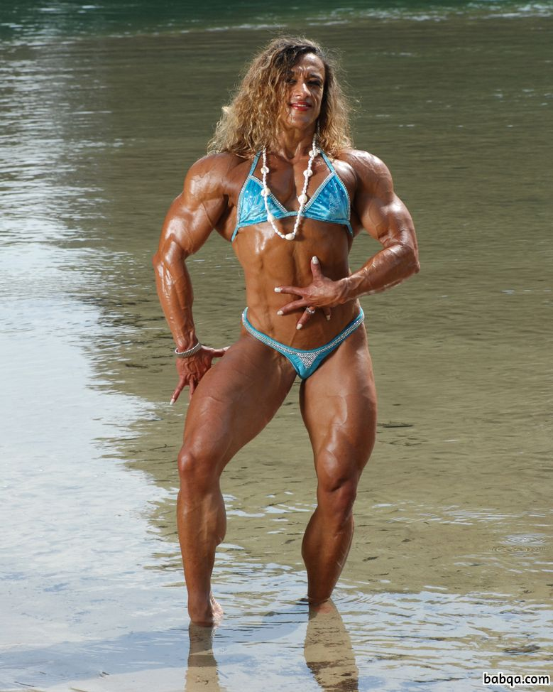 hottest woman with strong body and muscle bottom repost from reddit