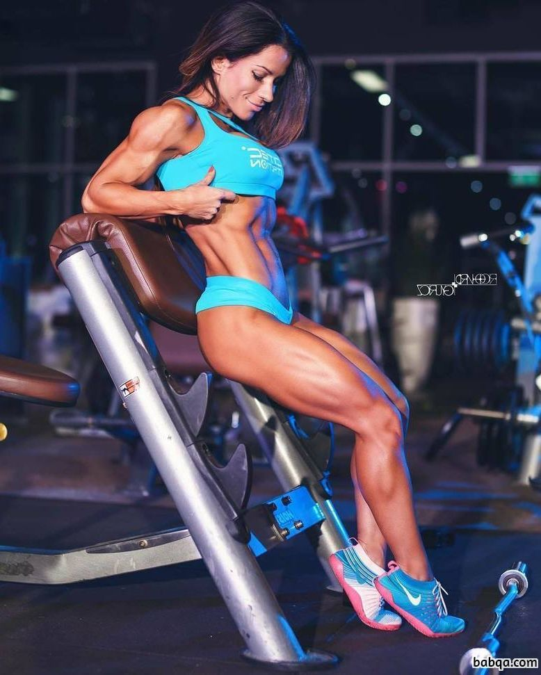 hottest babe with strong body and muscle legs repost from linkedin