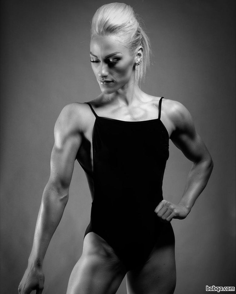 beautiful female with strong body and toned legs picture from linkedin