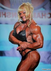 sexy female with strong body and toned biceps picture from reddit