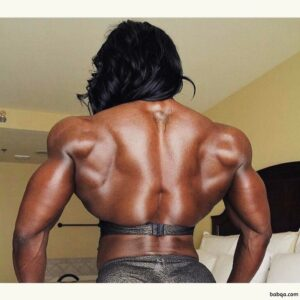 hottest babe with muscular body and toned arms photo from linkedin