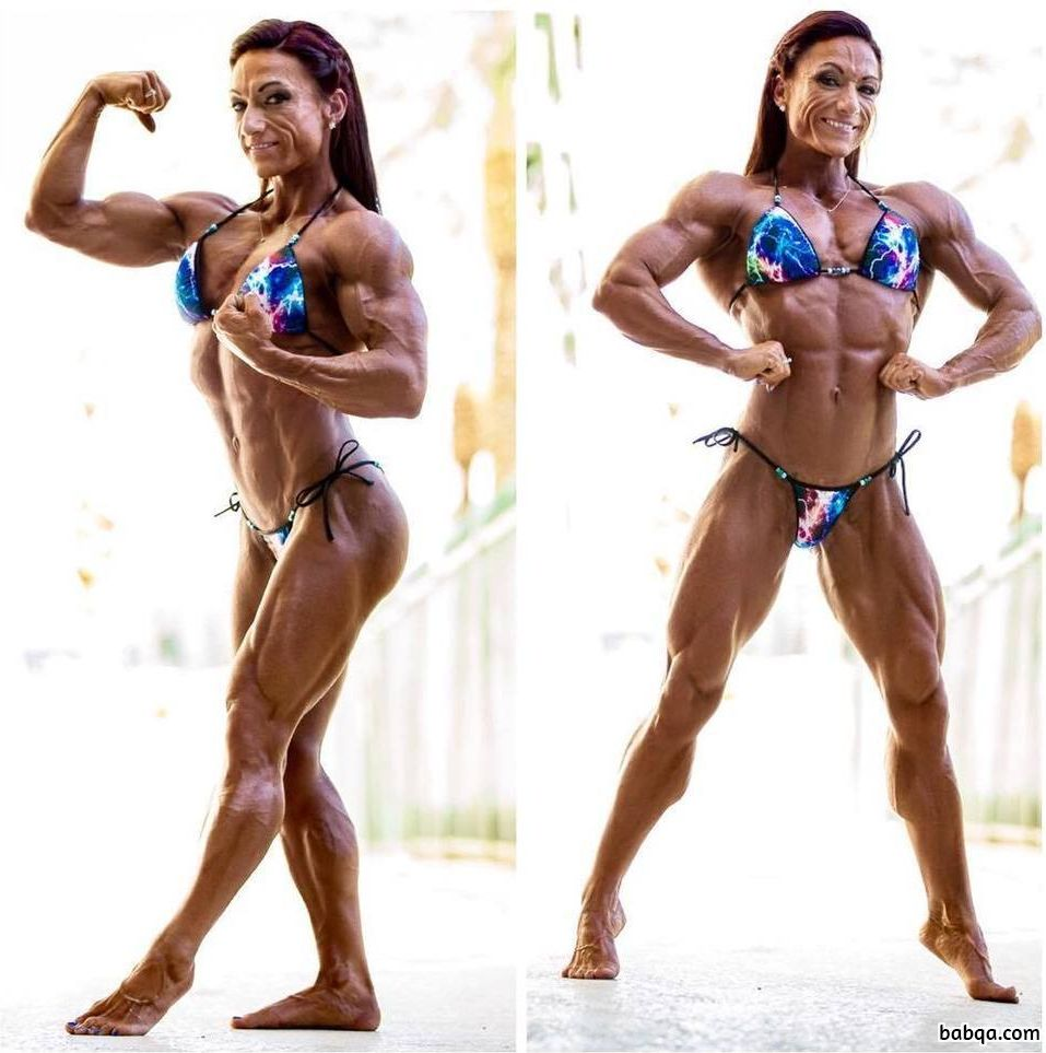 spicy babe with fitness body and toned biceps post from g+