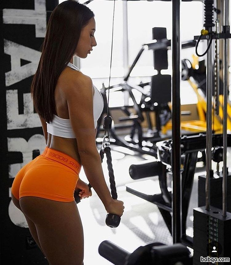 spicy woman with muscular body and muscle booty picture from flickr