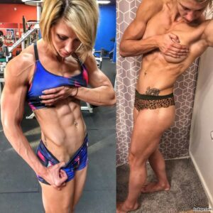 hot female bodybuilder with fitness body and toned ass picture from reddit