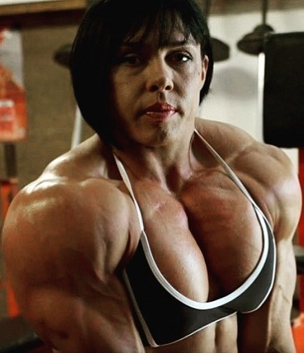 perfect lady with strong body and muscle bottom pic from tumblr