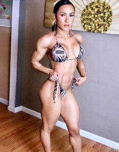 sexy chick with muscle body and toned booty picture from g+