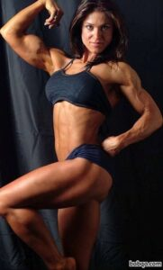 awesome female bodybuilder with strong body and muscle booty photo from flickr