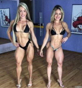 hottest woman with strong body and muscle bottom photo from g+